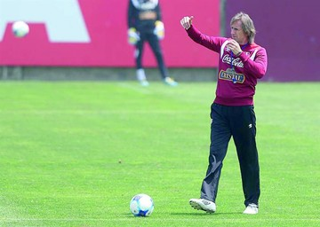 Gareca y Trauco, optimistas por la  selección de Perú