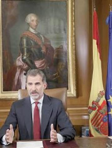 Felipe VI pide garantizar el orden legal