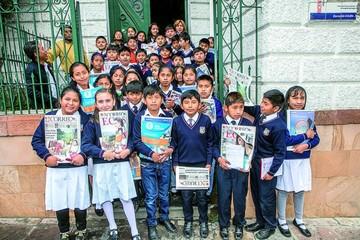 Colegio San Juanillo visita Correo del Sur