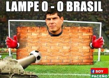 Los memes de los internautas tras la brillante actuación de Lampe frente a Brasil