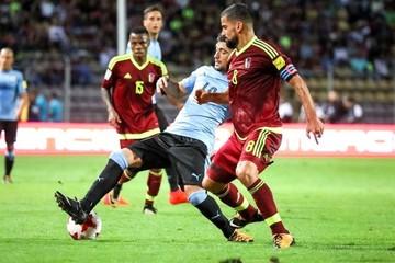 Venezuela frena a Cavani y Suárez y Uruguay aplaza su clasificación