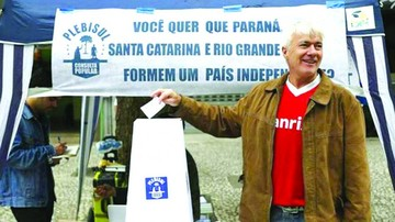 Brasil: Consulta simbólica inspirada en Cataluña