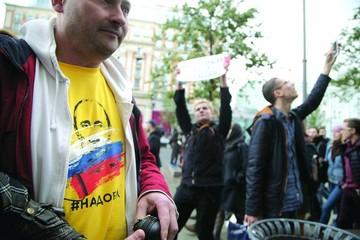 Oposición intenta opacar 65 cumpleaños de Putin