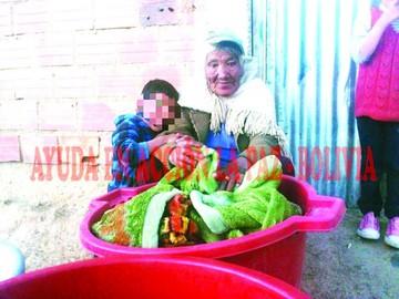 4 nietos viven gracias a su abuelita
