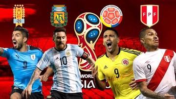 Uruguay, Argentina y Colombia sellan su pase directo al Mundial de Rusia; Perú al repechaje