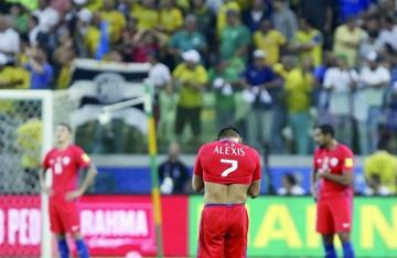 La Roja digiere un trago amargo en Brasil