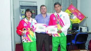 Medallistas sudamericanos reciben reconocimientos