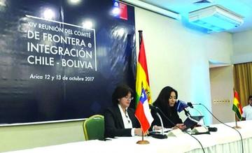 Bolivia y Chile acuerdan  apoyo fronterizo variado