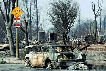 California: Controlan el fuego pero temen muertes
