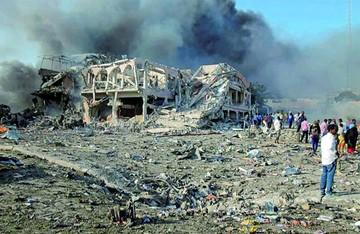 Somalia sufre el peor atentado de su historia