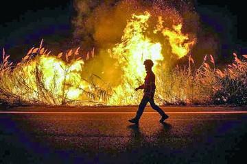 Incendios preocupan en Portugal y España
