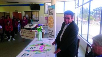 Donan un gasómetro al hospital del Niño
