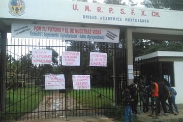 Universitarios de Monteagudo suspenden actividades por incumplimiento de compromisos