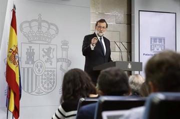 Gobierno español destituirá a Puigdemont y convocará a elecciones en Cataluña