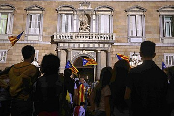 Separatistas catalanes no consideran ir a elecciones