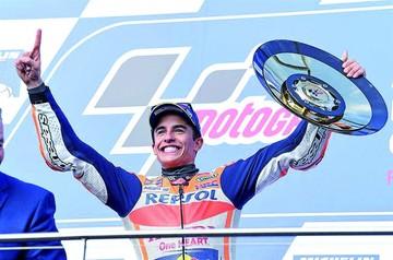 Márquez, a un paso del título mundial