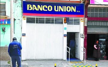 """Banco Unión remite a la Fiscalía una lista de 18 """"vinculados"""" al desfalco"""