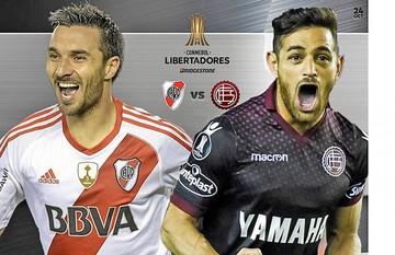 River y Lanús, por un pie en la final de Libertadores