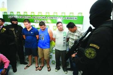Desarticulan banda de secuestradores