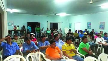 """Monteagudo alista paro por el conflicto de la """"U"""""""
