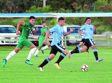 Sub 15: Bolivia cae en primer partido frente a Uruguay
