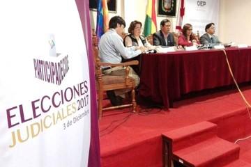 Chuquisaca: Más de 10.000 jurados fueron sorteados para las elecciones judiciales