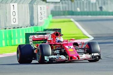 Vettel le pone algo de suspenso a la Fórmula 1