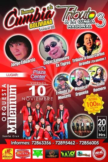 Homenajearán en Sucre a la cumbia del ayer