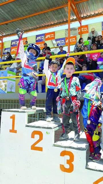 Sucre logra segundo lugar en Nacional de BMX