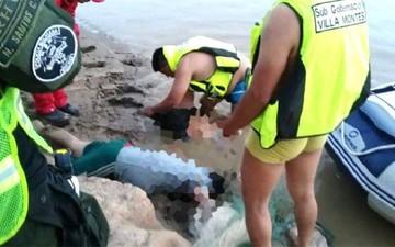 Padre e hijo mueren ahogados envueltos en una red de pesca en Villa Montes