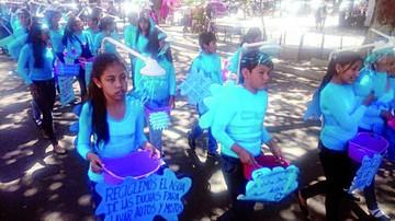 Escuela Nicolás Ortiz sensibiliza sobre el agua