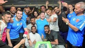 Diego celebra sus 57 años con saludos de sus ex clubes y Evo