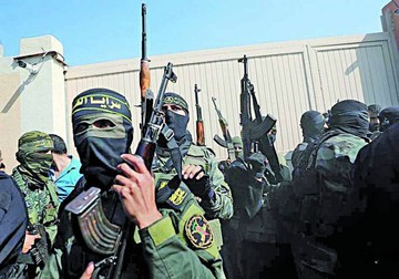 Mueren siete palestinos en bombardeo