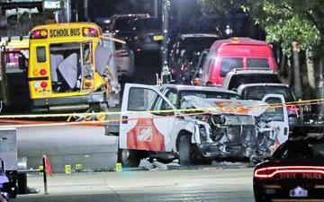 Terrorista mata a ocho personas en Nueva York