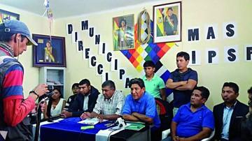 El MAS planea movilizar a 10.000 personas en Sucre