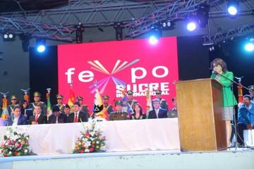 Pese al frío, más de 8.000 personas respaldan la Fexpo