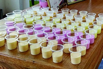 Desayuno: Los escolares reciben un solo producto