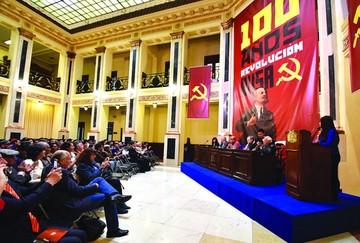 Gobierno saluda centenario de la Revolución rusa