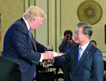 Trump: EEUU usaría la fuerza contra Corea del Norte