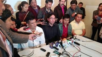 Dirigente vecinal induce al voto para tres candidatos al órgano judicial