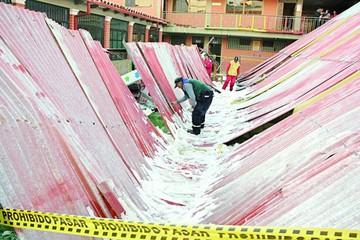 Alcaldía agiliza edificación de 4 escuelas destrozadas