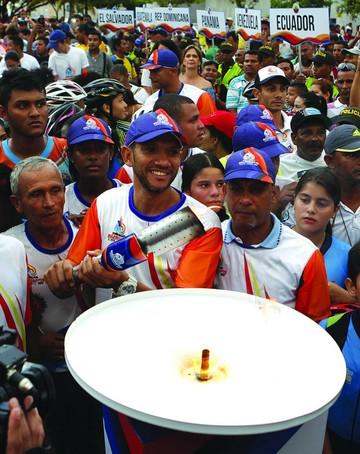 Llama Bolivariana recorrió las calles de Santa Marta