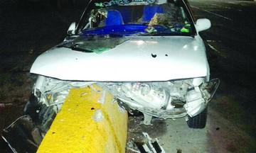 Tres mujeres resultan heridas en una colisión