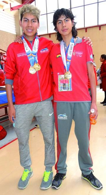 Daniel y Erik Ventiades entre los mejores del país