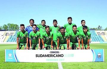 Bolivia cosechó su primer punto en Sudamericano