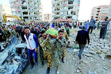Aumentan víctimas de devastador sismo en el oeste de Irán