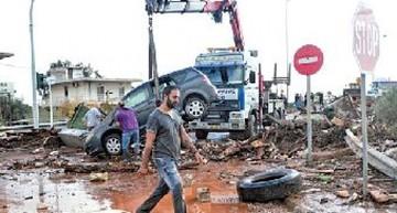 Quince muertos dejan torrenciales lluvias en Grecia
