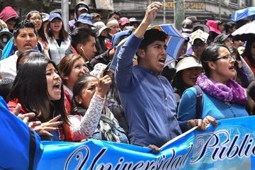 Estudiantes de la UPEA advierten con movilización indefinida