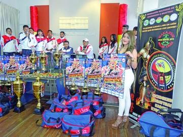 """Preparan una """"jaula"""" para Nacional de Kick Boxing"""