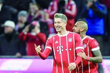 El Bayern gana y aumenta ventaja  sobre el Leipzig
